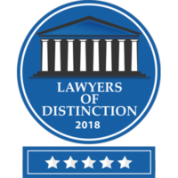 lawyer distinction badge